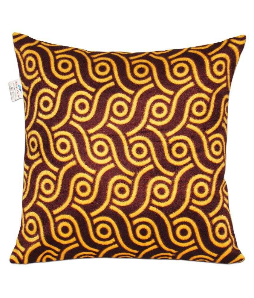 Zikrak Exim Single Velvet Cushion Covers