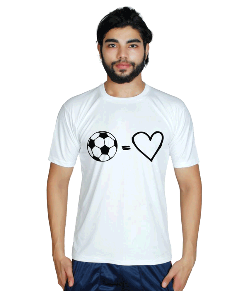 Prokyde White Round T-Shirt