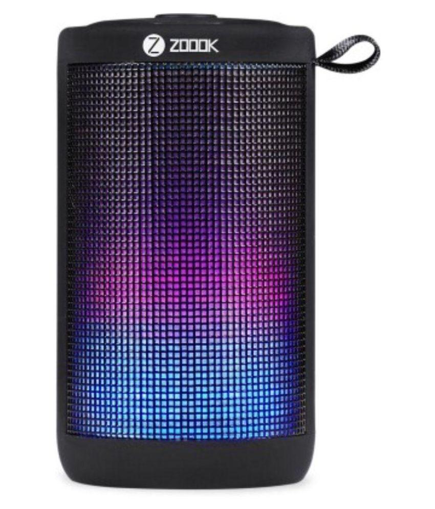 Zoook ZB Jazz Portable Speaker   Black