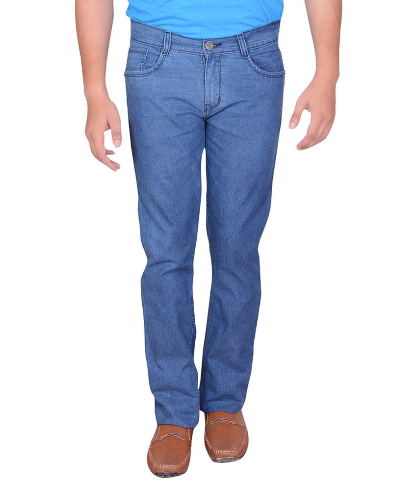 Montare Club Light Blue Slim Washed