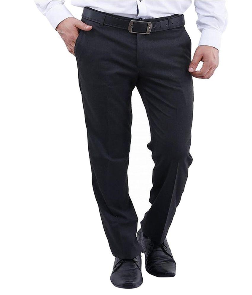 La Mode Black Regular Flat