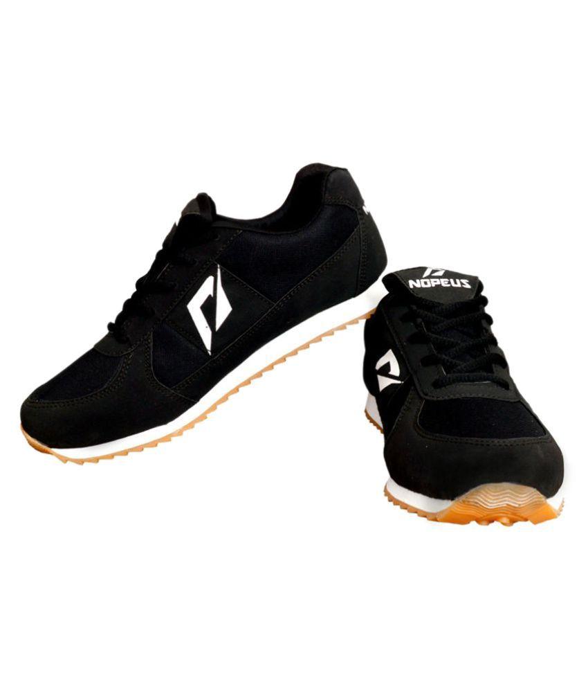 Nopeus Black Running Shoes