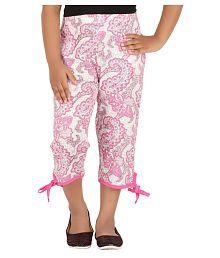 Fictif Pink Cotton Capri
