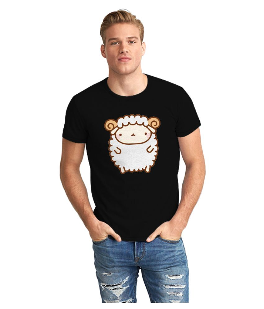 The Fappy Store Black Round T-Shirt