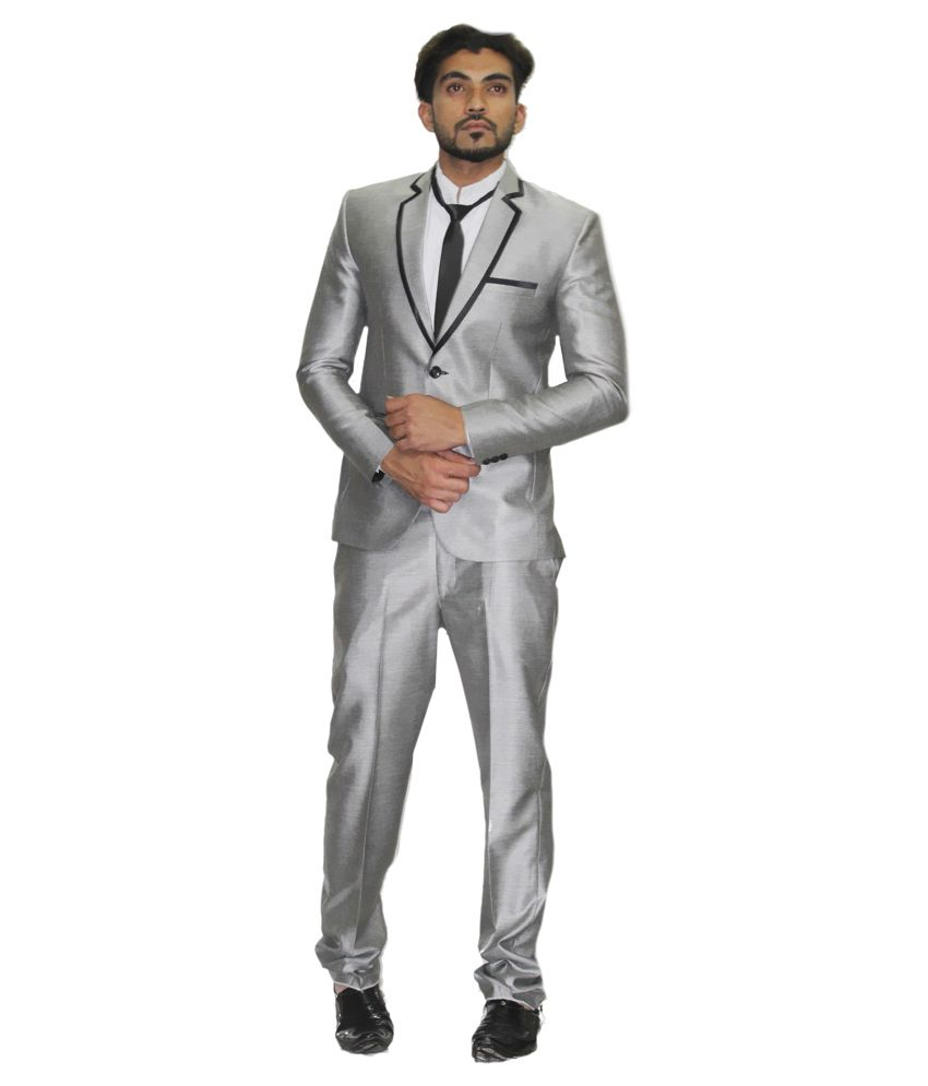City & Club Grey Formal Suits