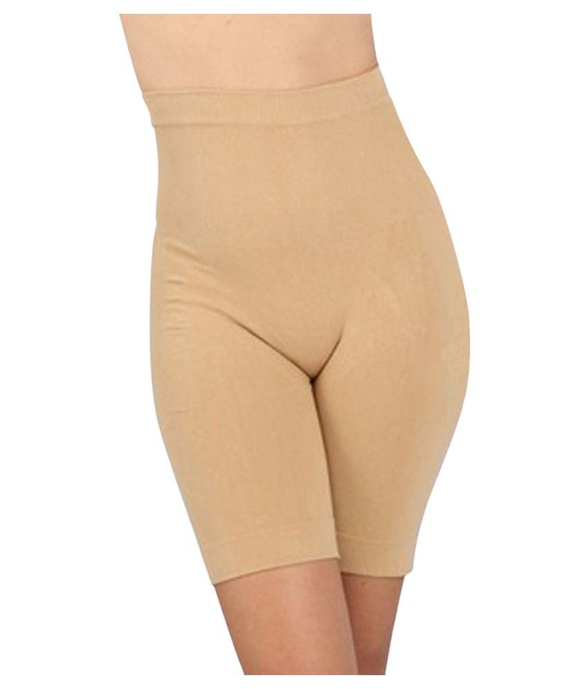 Gold Dust Beige Cotton Shapewear