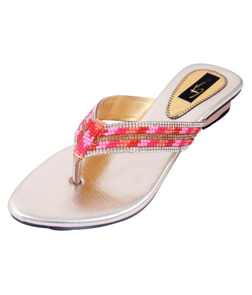 Rimezs Multi Color Block Heels