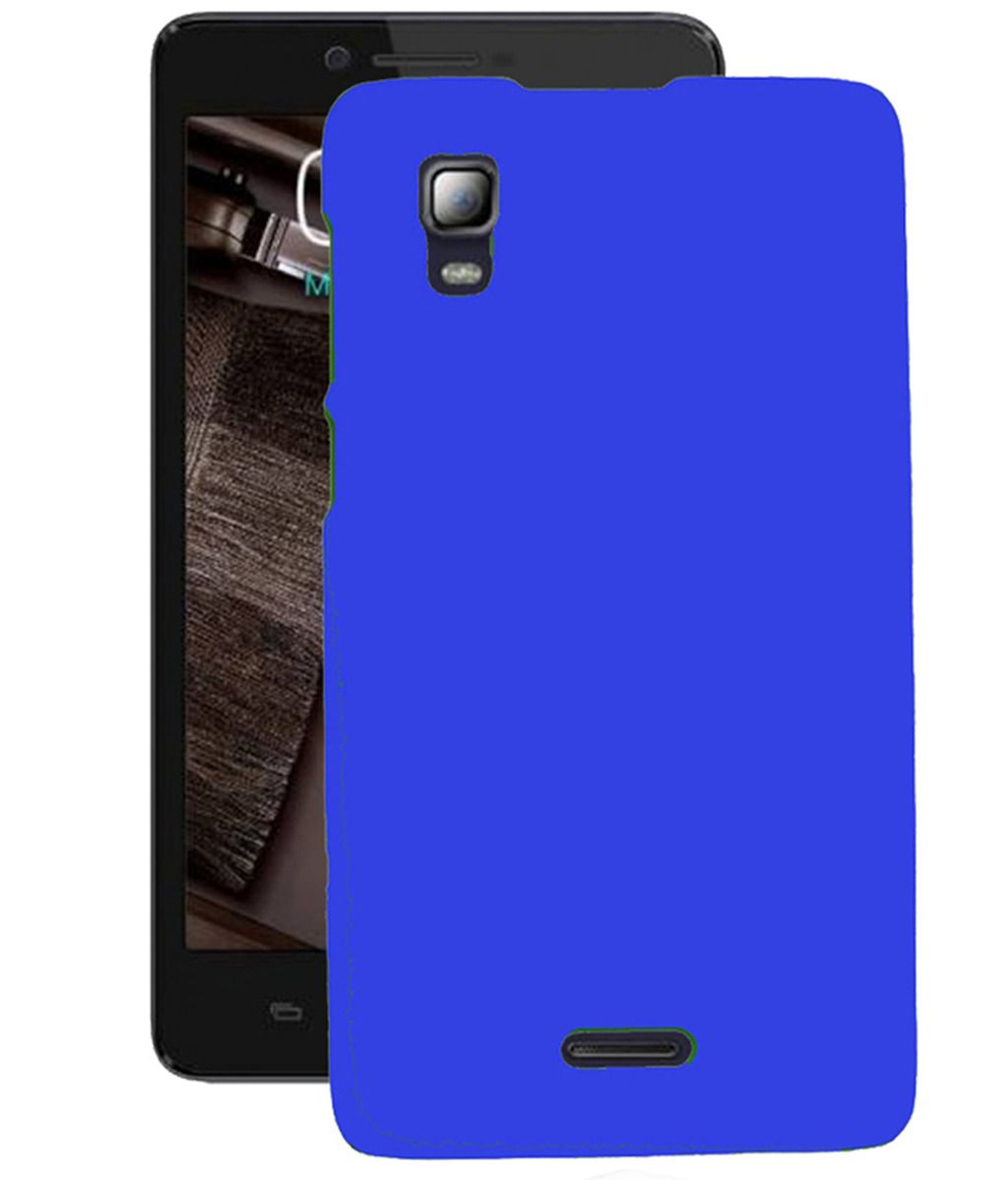 best service b5e27 537ce Micromax Canvas Doodle 3 A102 Cover by KING CASE - Blue