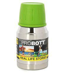 Probott Stainless Steel  Silver 500 ML School Bottle Set Of 1 - 656058820785