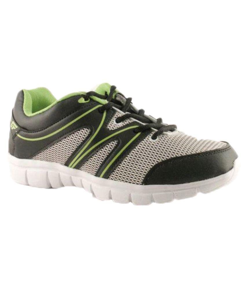 Bata Gray Running Shoes