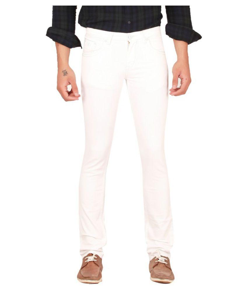 Lawson White Skinny Basic Jeans