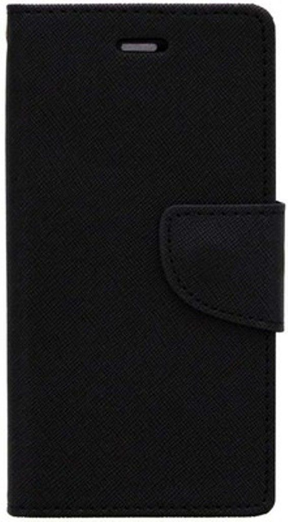 Sony Xperia C4 Flip Cover by Kosher Traders - Black