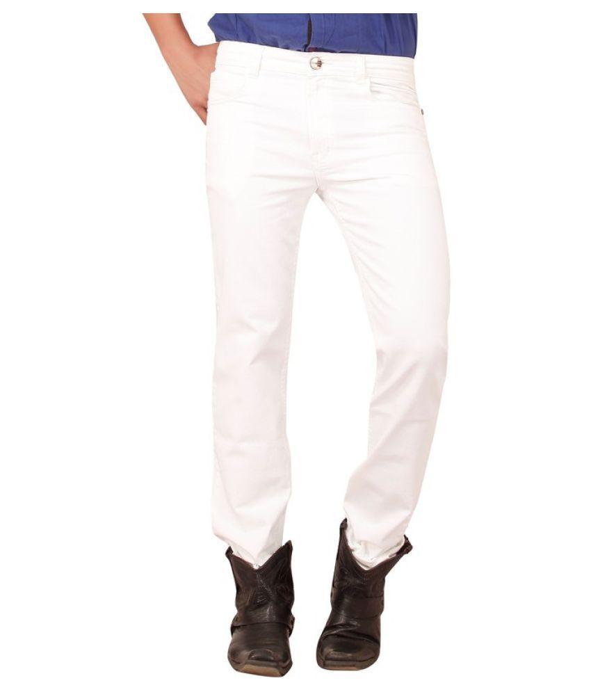 X20 White Skinny Basic Jeans