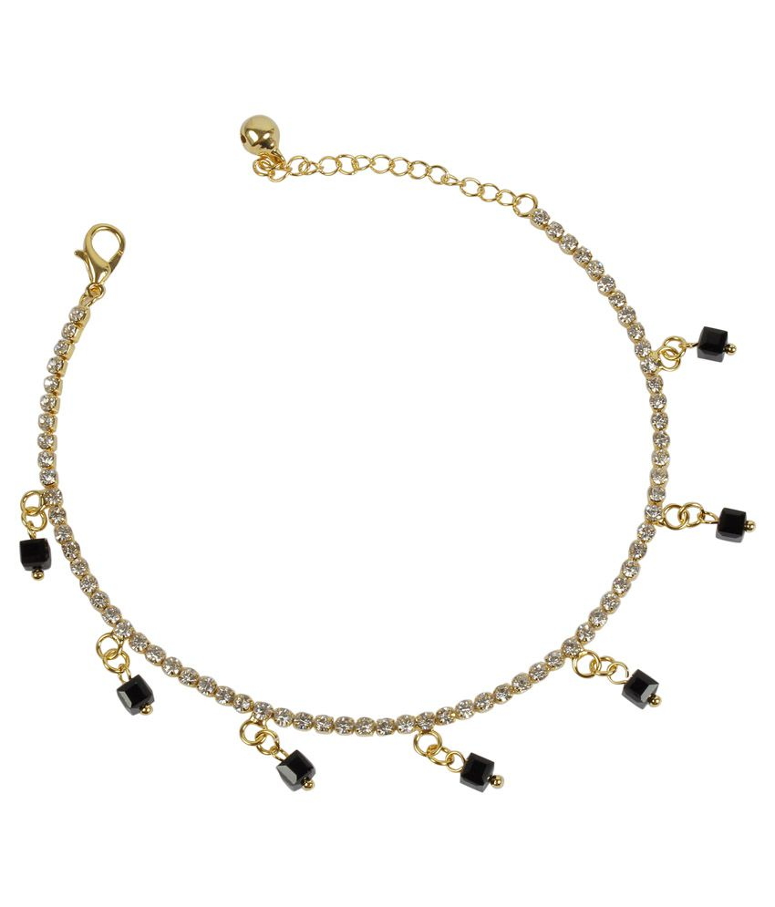 Much More Multicolour Alloy Anklet