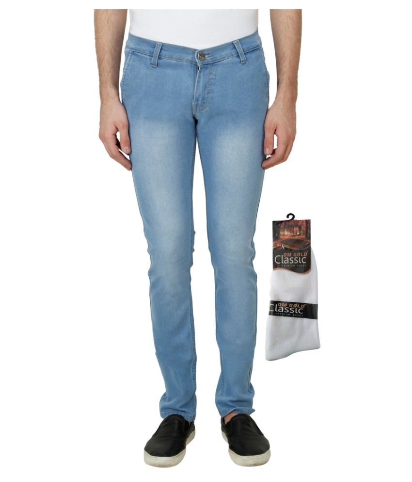 Haltung Light Blue Slim Faded