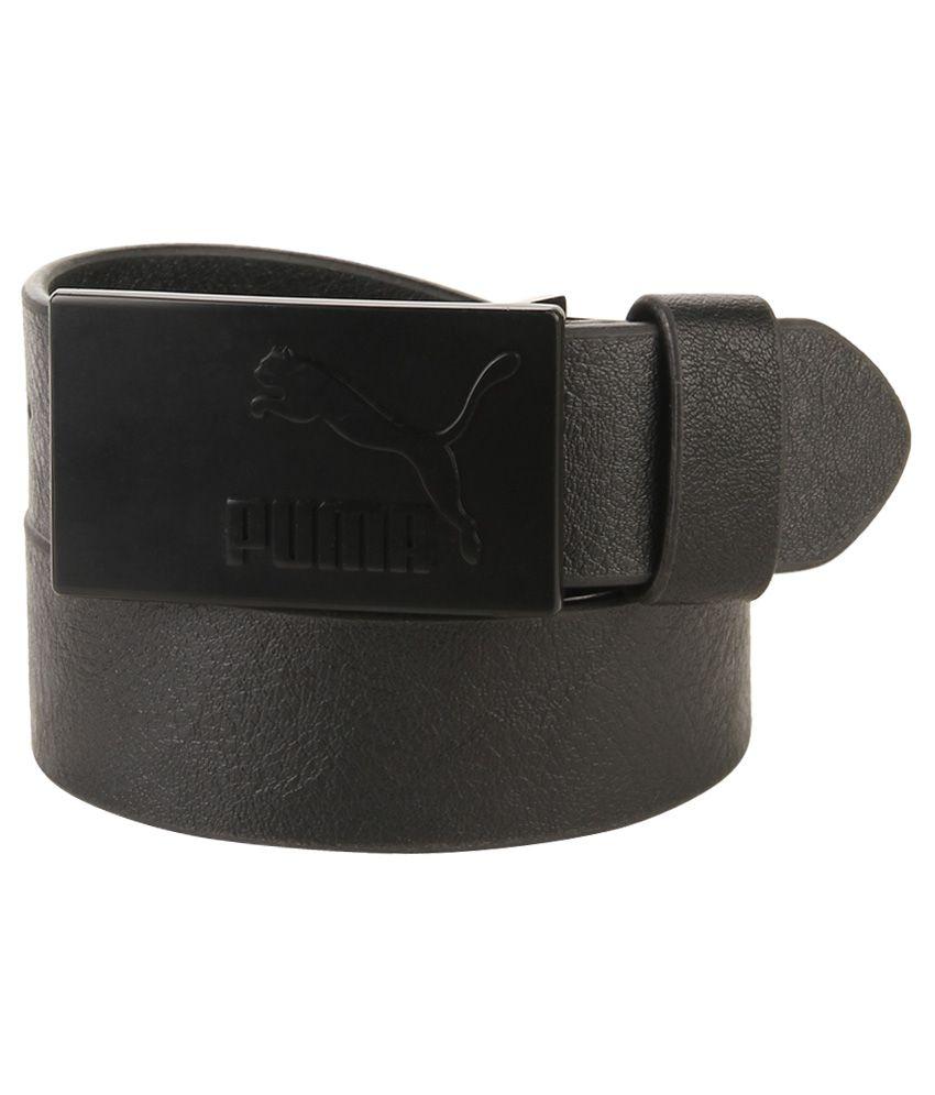Puma Black Casual Belt For Men