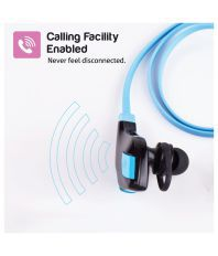 Envent ZapOn ET-BTE001-BL Bluetooth Earphone with Mic (Blue)
