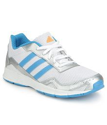 Adidas White CLEASER 2 K Sports Shoes