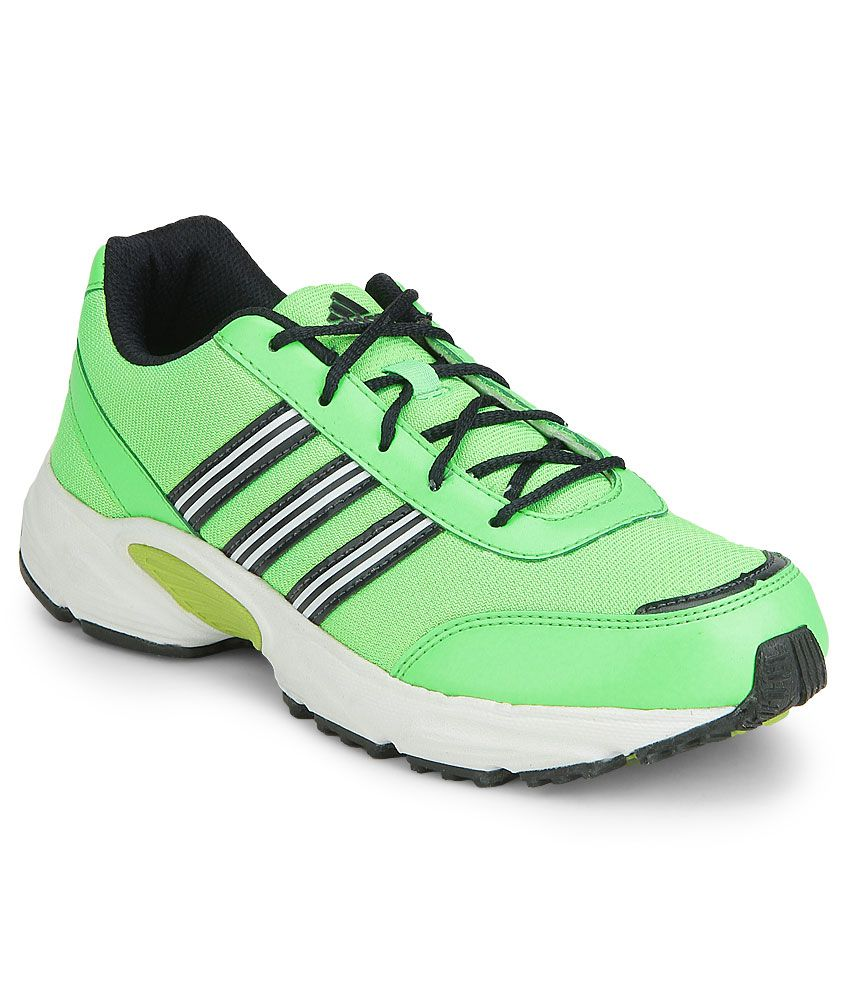 19908f85e33 Adidas Green YAGO K Sports Shoes Price in India- Buy Adidas Green YAGO K  Sports Shoes Online at Snapdeal