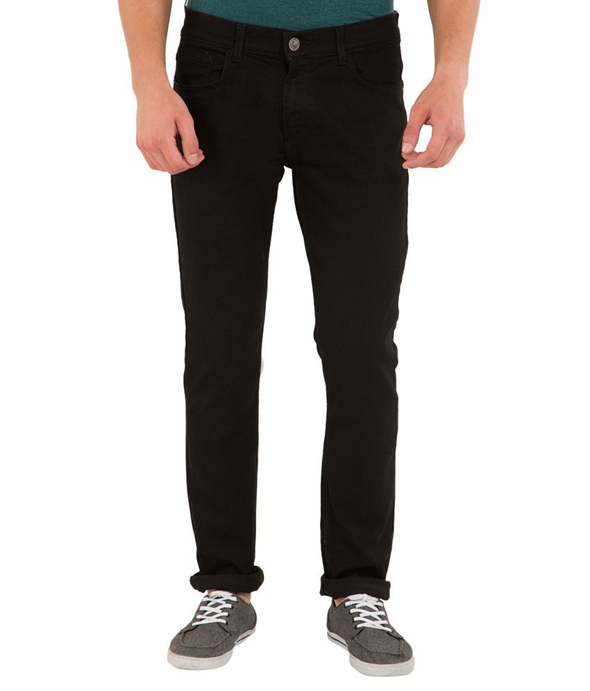 Highlander Black Slim Fit Jeans