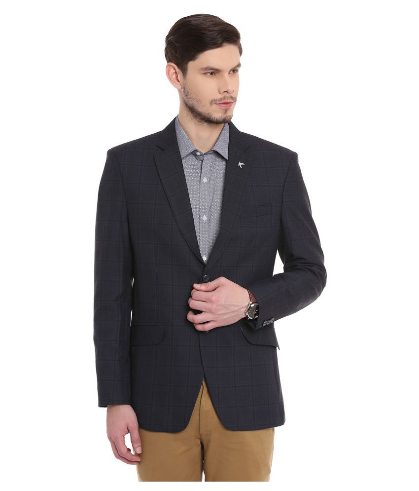 Canary London Black Checks Casual Tuxedo