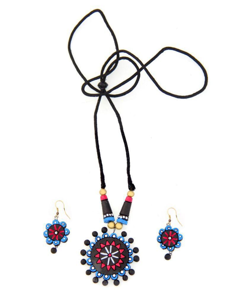 Kaizer Jewelry Multicolour Necklace Set