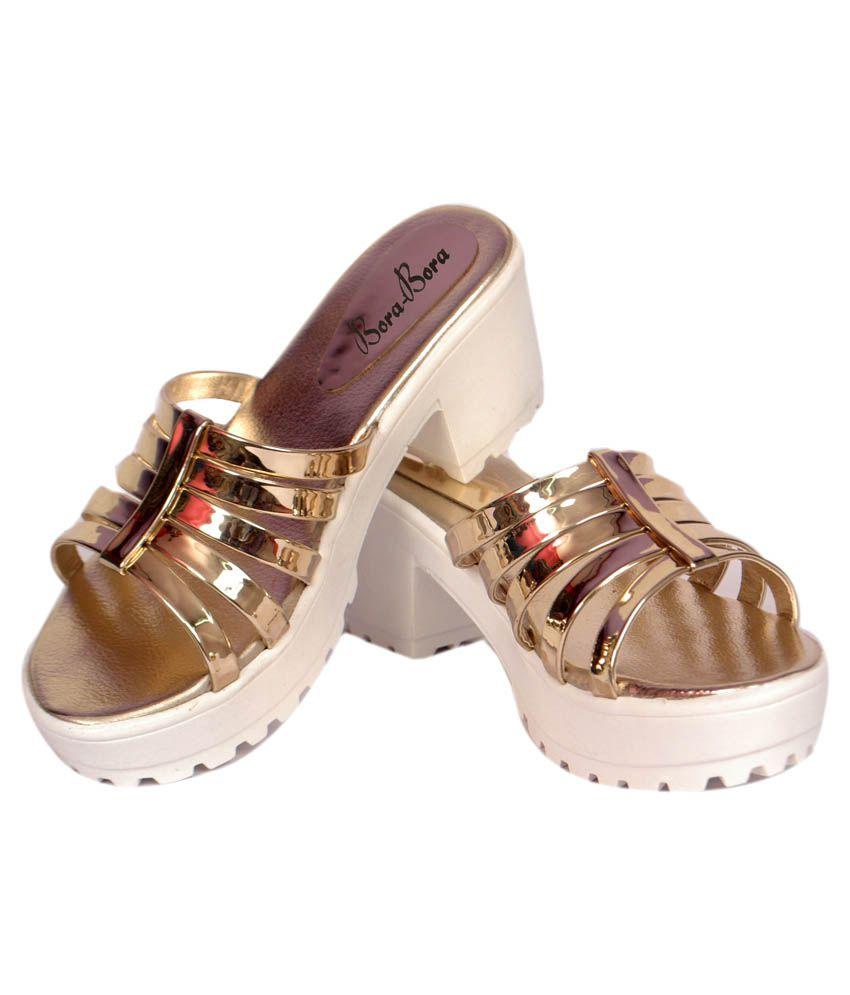 3454a9ecbcd Studio 9 Gold Block Heels