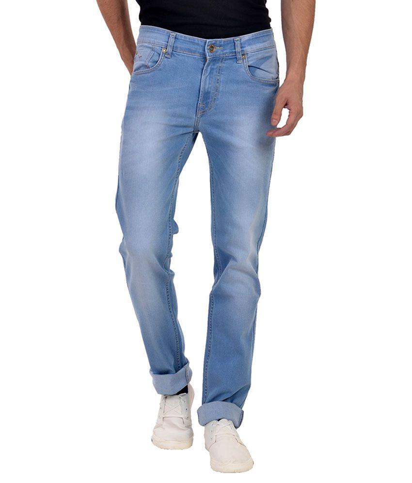 Wert Jeans Blue Skinny Faded