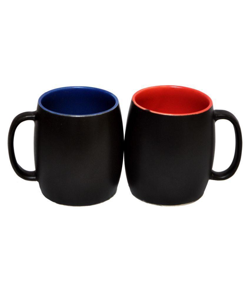 Vpra Mart Ceramic Coffee Mug 2 Pcs 300 ml