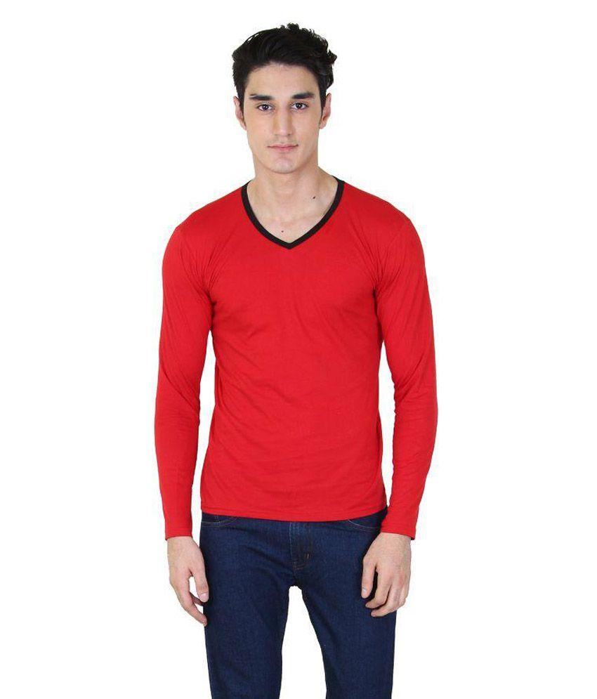 SSBD Red V-Neck T-Shirt