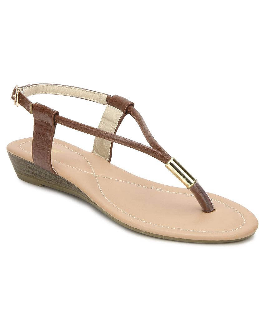 Lavie Brown Sandals