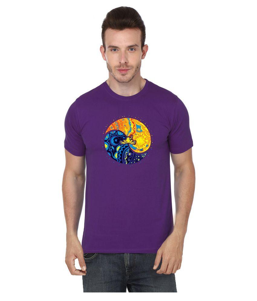 S.ENT. Purple Round T-Shirt