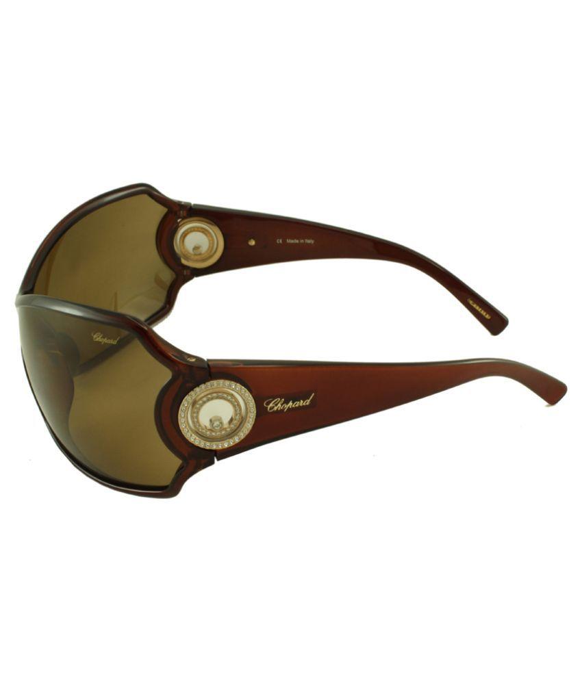 stylish glasses for men  Chopard Brown Wrap Around Sunglasses ( SCH012S-Z90X ) - Buy ...
