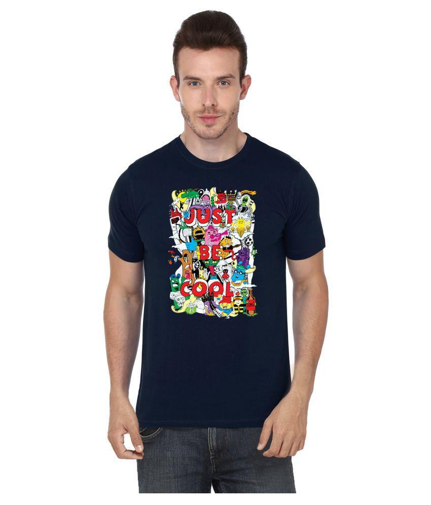 S.Ent. Navy Round T-Shirt