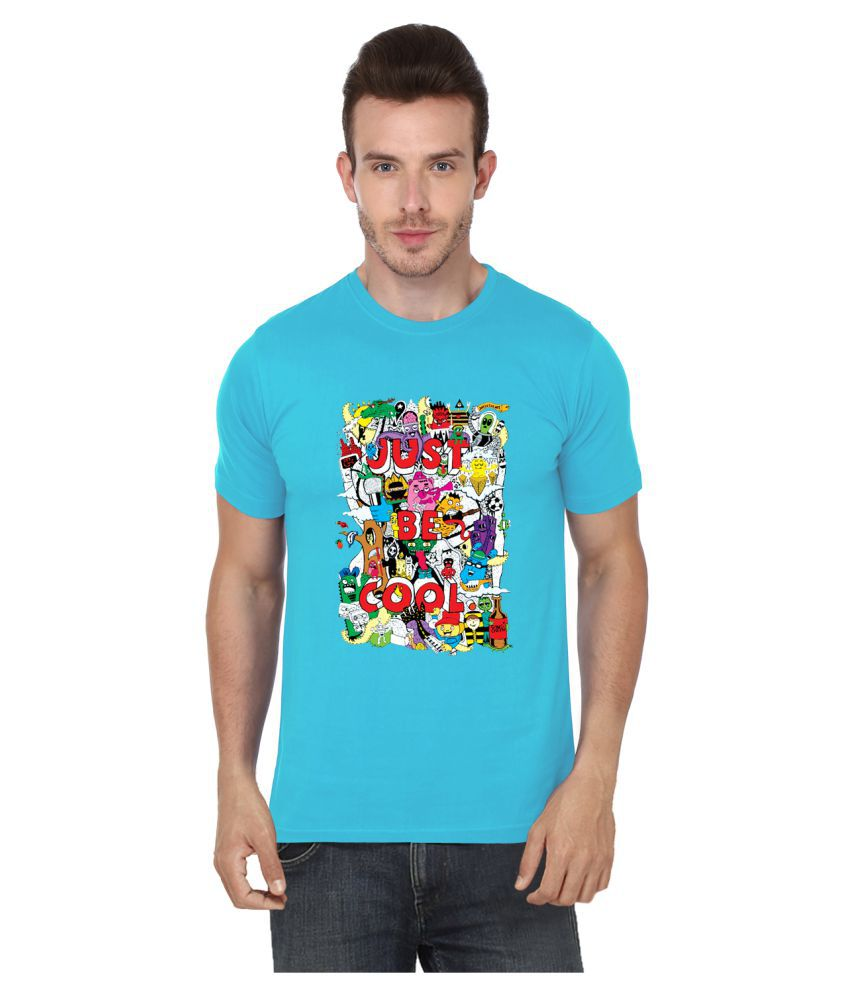 S.Ent. Turquoise Round T-Shirt