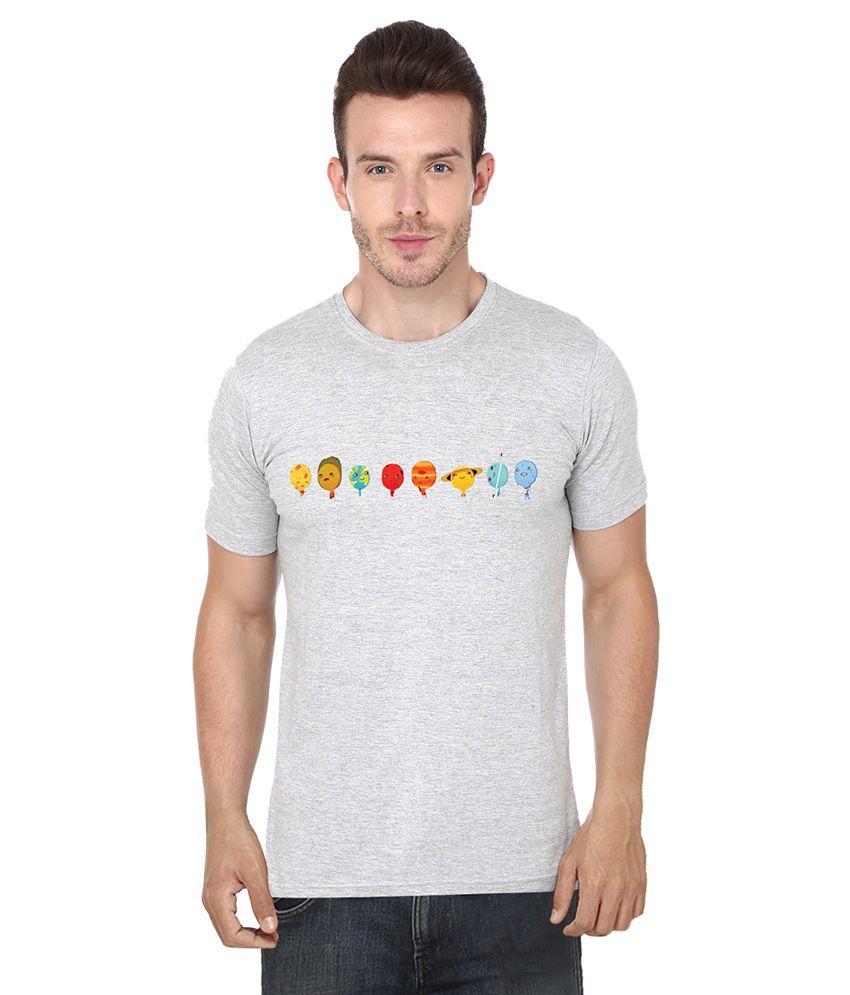 S.Ent. Grey Round T-Shirt