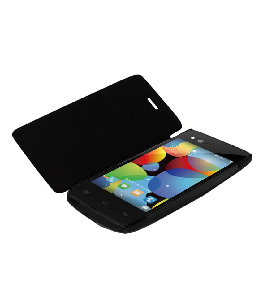 competitive price 7fae3 78759 Xolo Q700 Flip Cover by Sedoka - Black