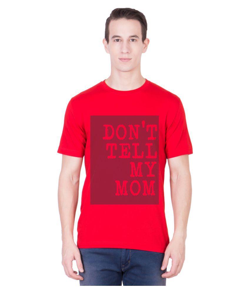Andshand Red Round T-Shirt