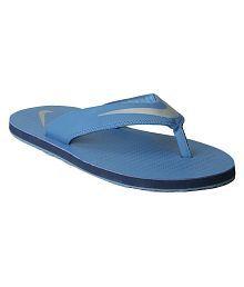 Nike Blue Thong Flip Flop