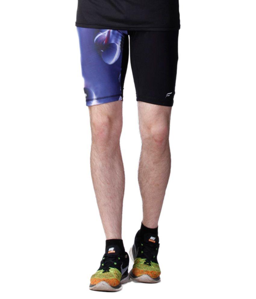 Flingr Multicolour Gym Shorts