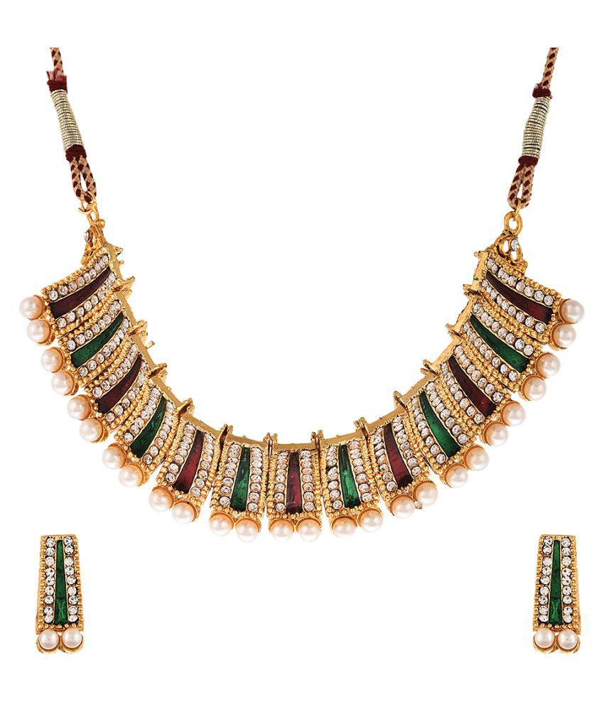 Zeneme Multicolour Necklace Set