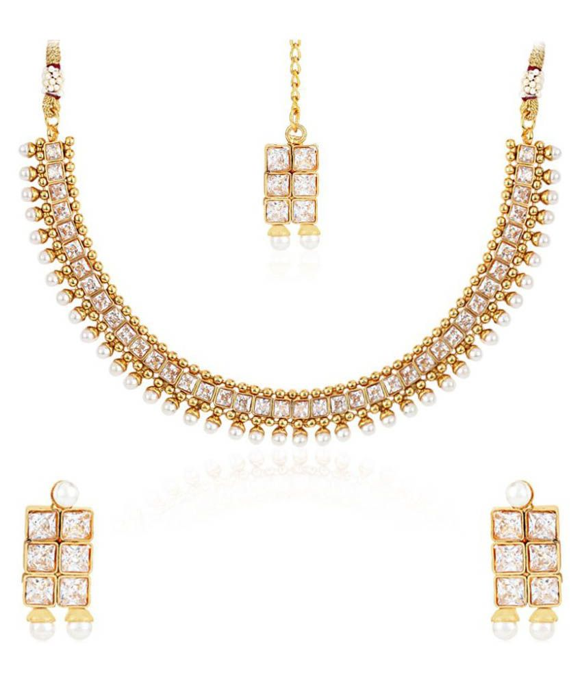 Zeneme Multicolor Necklace Set