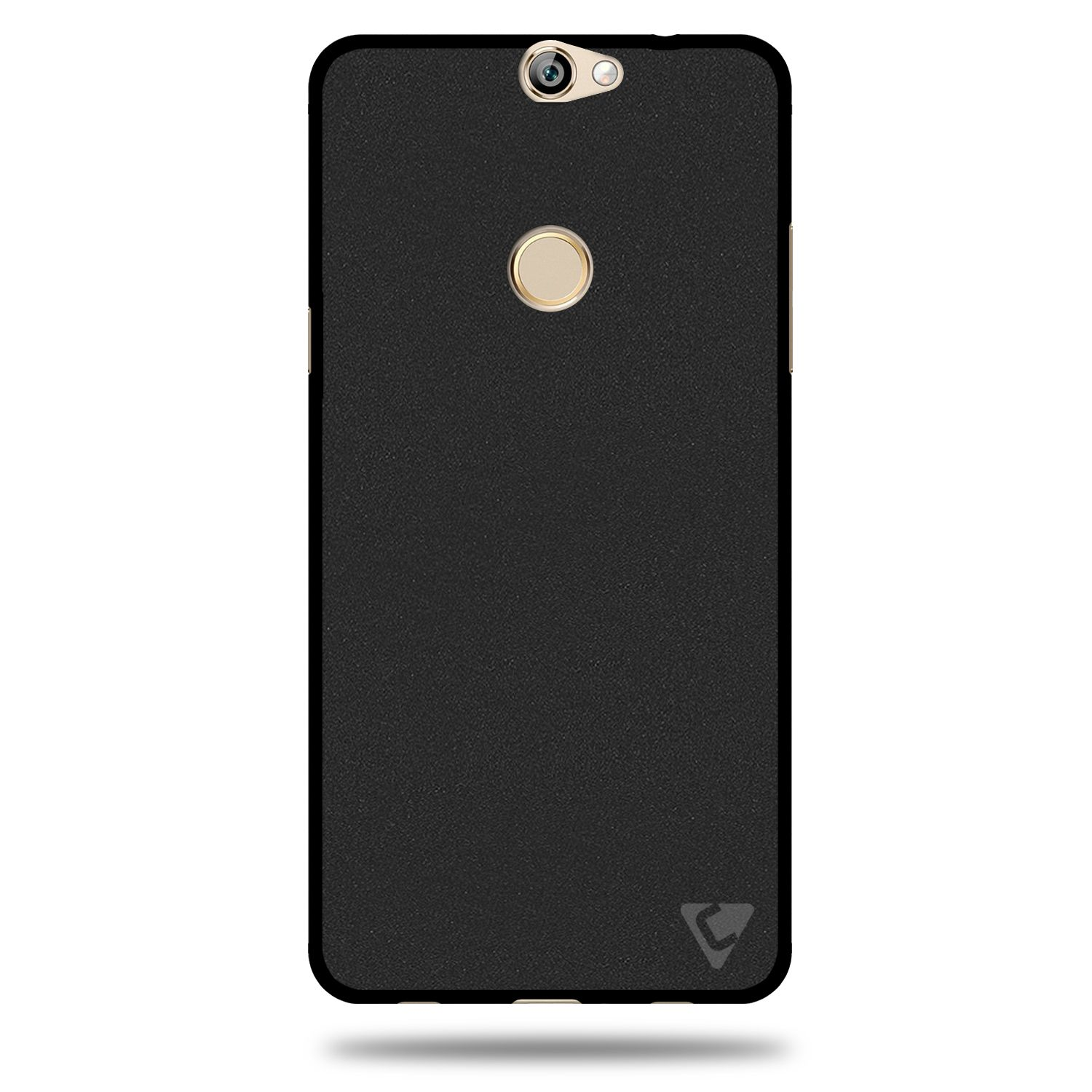 Coolpad Max Cover by Ceego Black Plain Back Covers line at