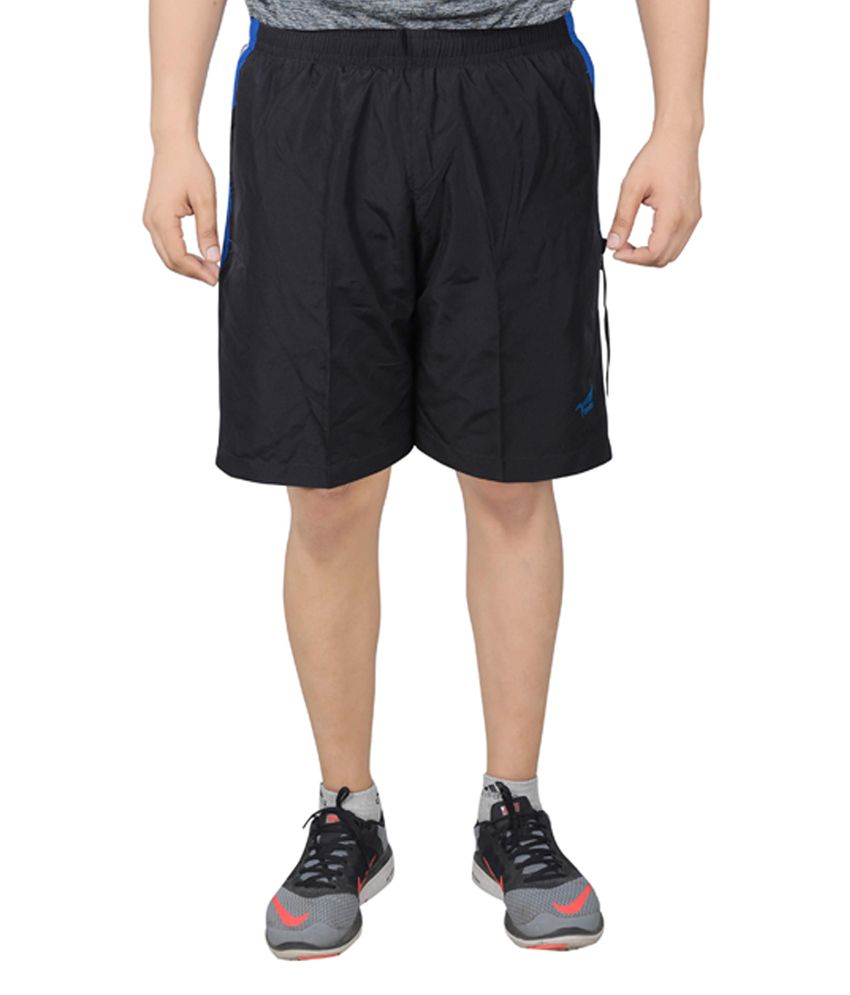 NNN Navy Blue Knee Length Dry Fit Men's Shorts