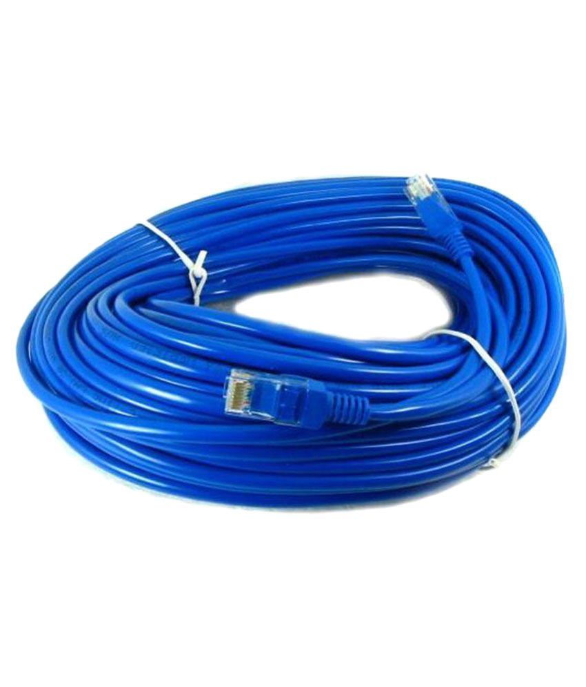 Terabyte Cat6 Patch LAN  Ethernet  Cable 10m Blue