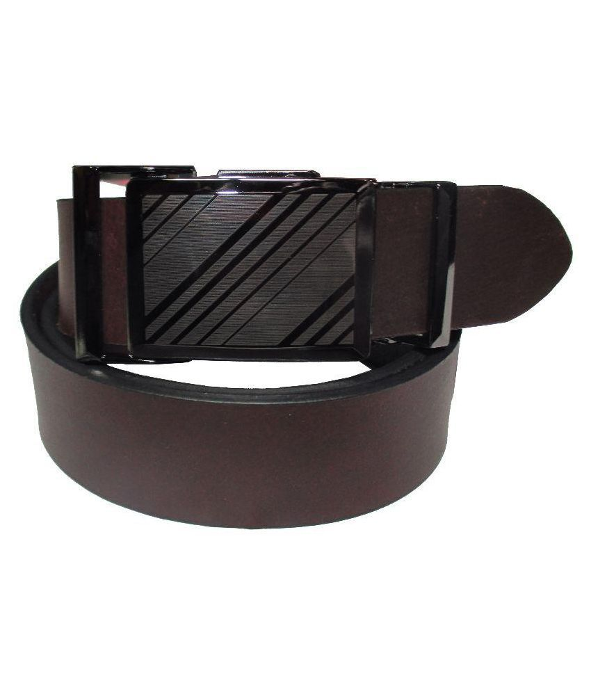 Sukhanand Distributers Brown Leather Formal Belts
