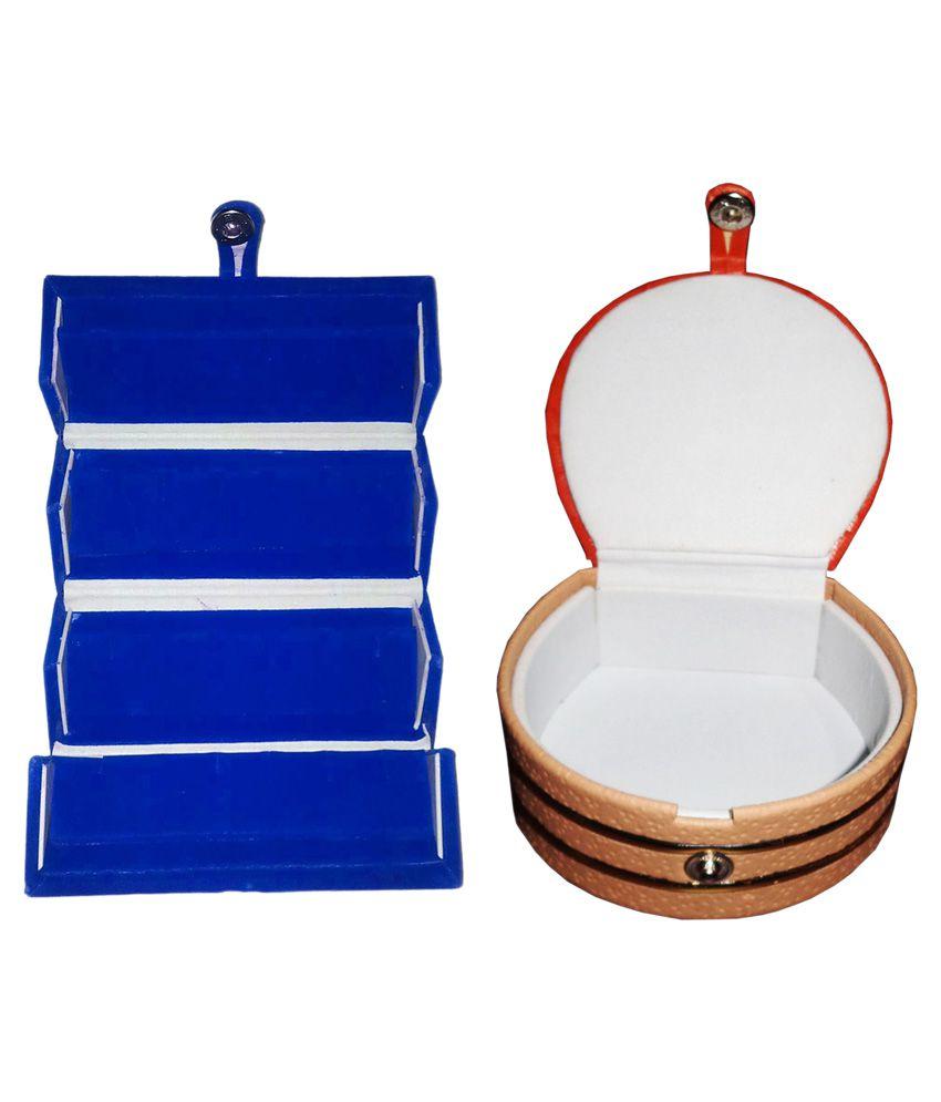 Abhinidi Combo Of 1 Ring Box and 1 Bangle Box