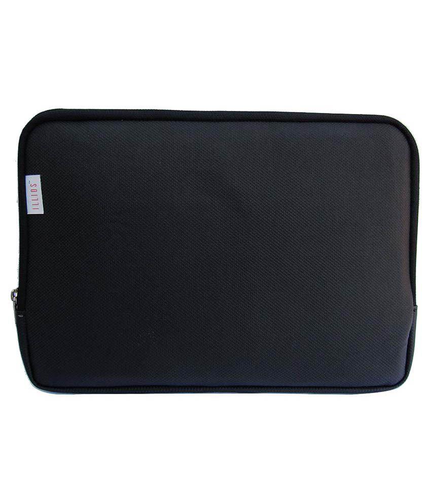 Illios Black Laptop Sleeves