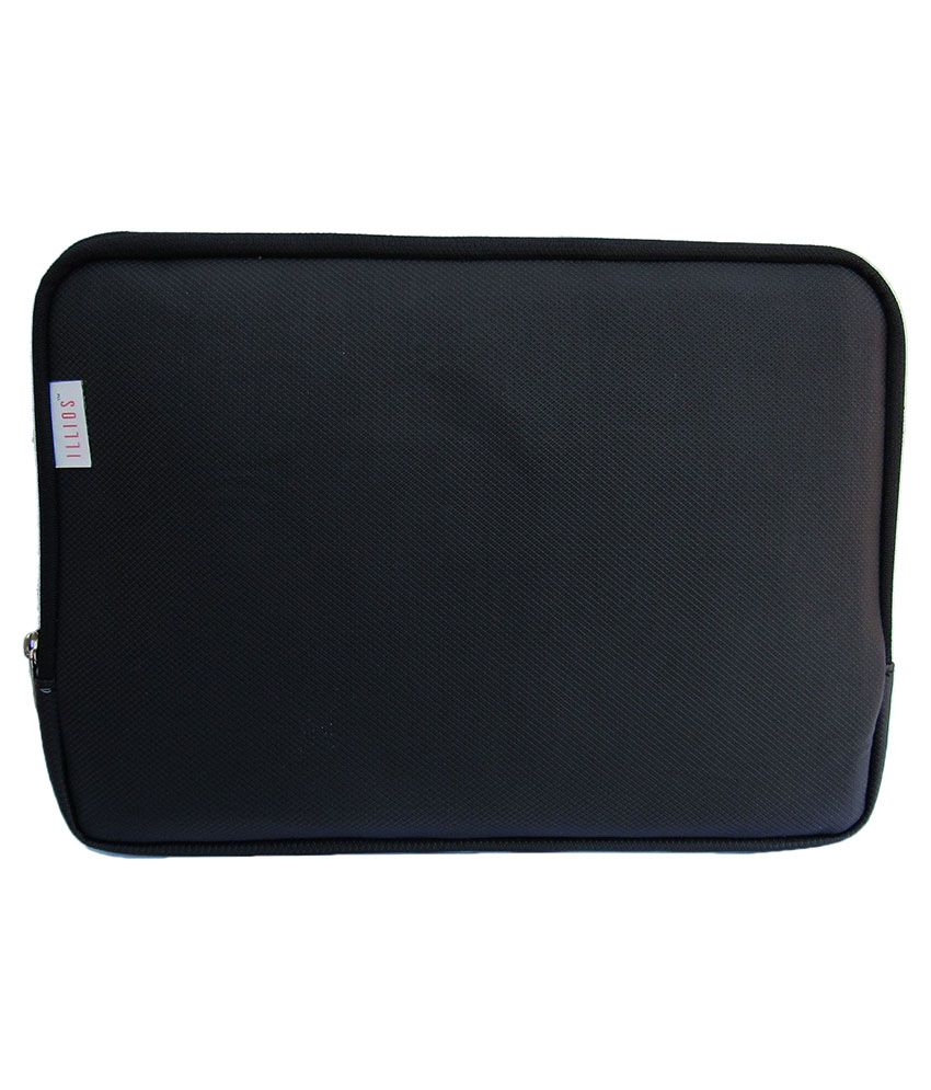 Illios Black Laptop Sleeves