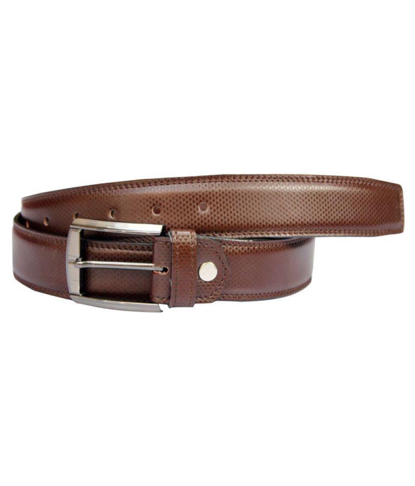 Bacchus Brown PU Formal Belts